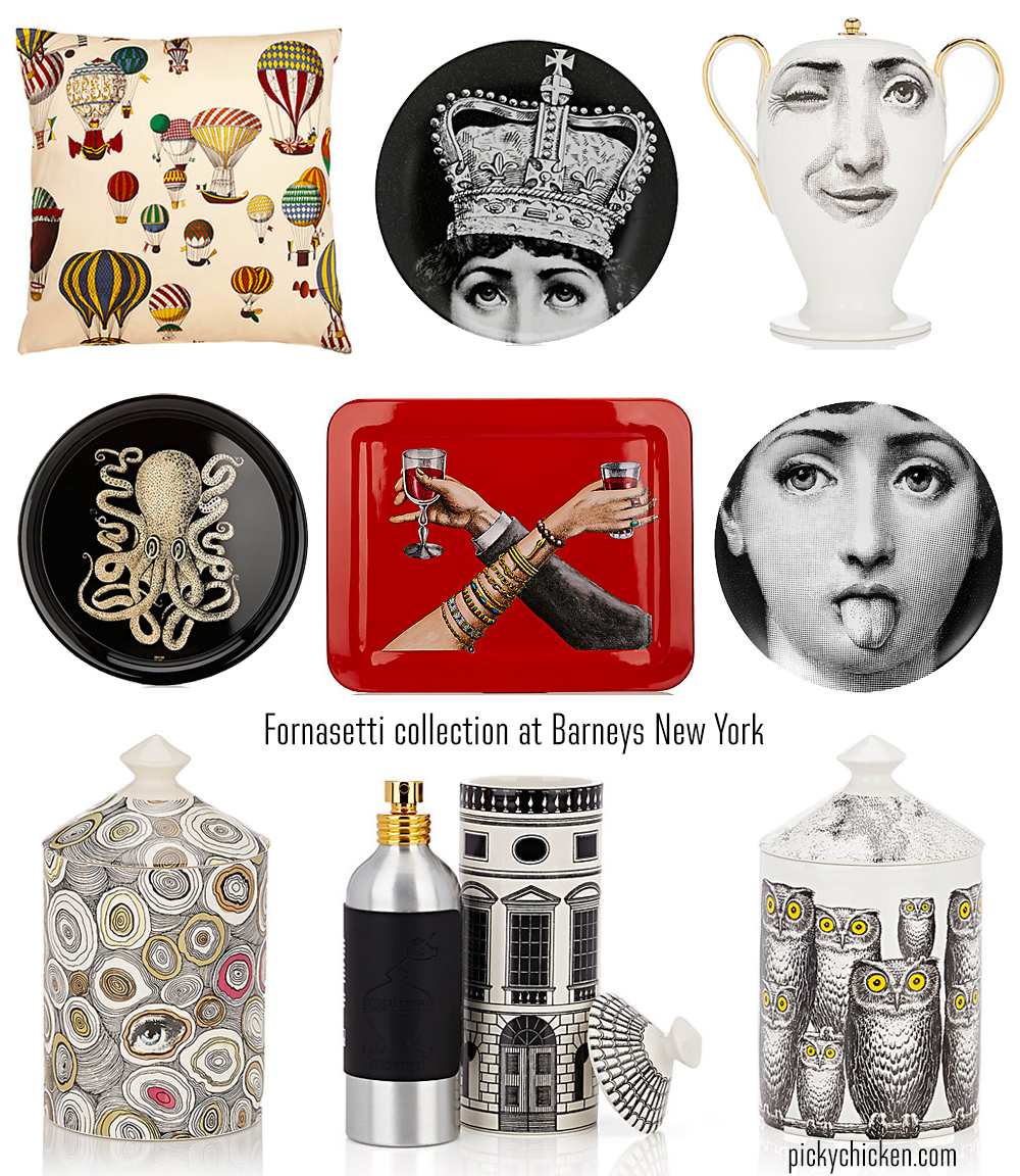 Barneys New York Fornasetti collection picks